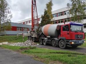 Betooni tööd 700m2, 2015a.