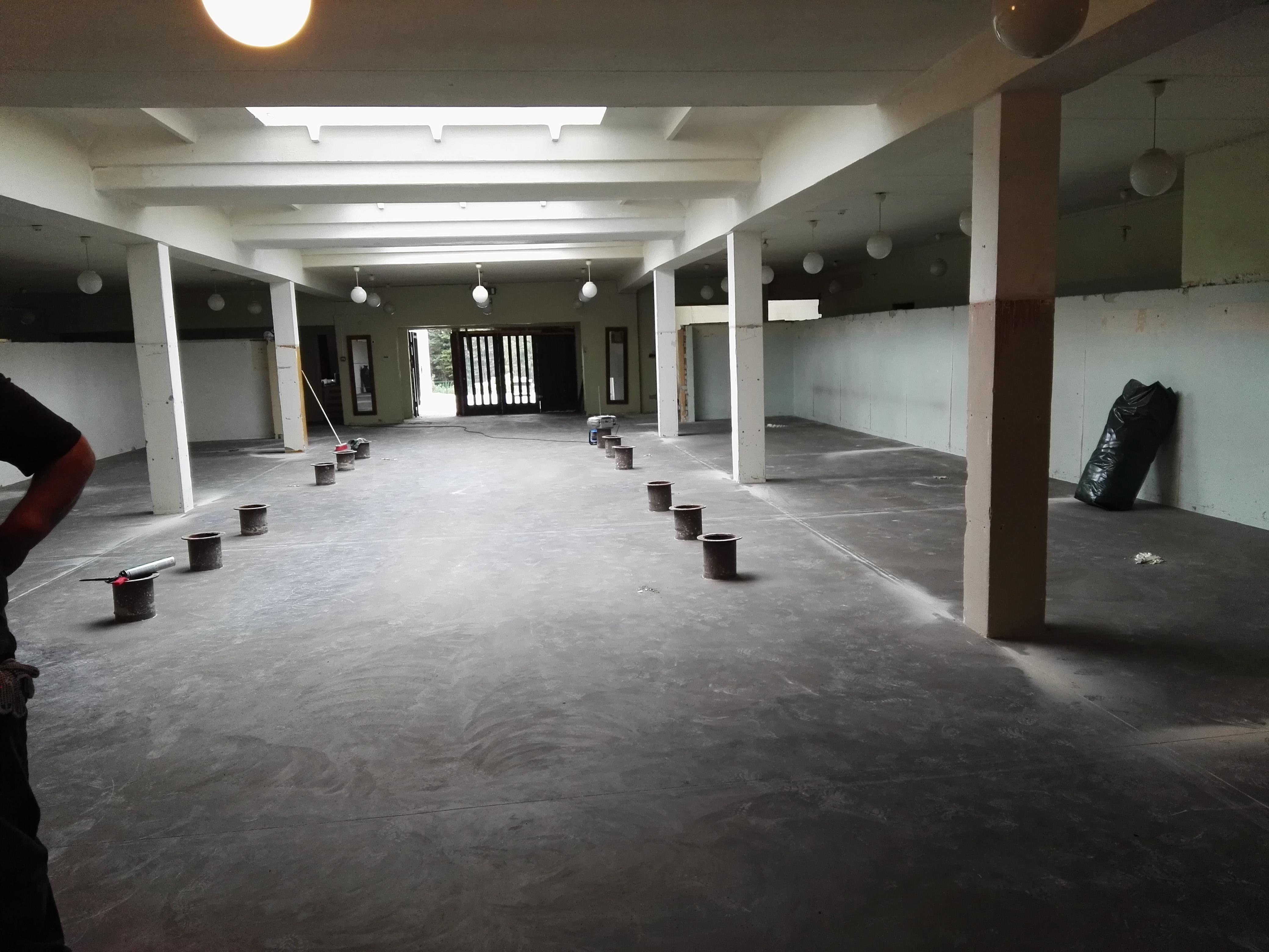 Заливка бетонного пола 700м2